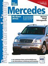 Mercedes Benz ML Diesel w163 Reparaturanleitung Reparaturbuch Reparatur-Handbuch
