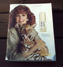 Vtg SEARS CATALOG ~ SPRING / SUMMER 1985 ~ STEPHANIE POWERS / HART TO HART COVER