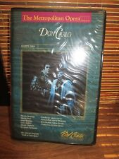 The Metropolitan Opera Don Carlo March 26th 1983 Double Video Tapes Set