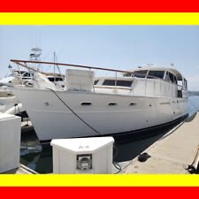 Pacemaker 60' Motoryacht Good twin Cummins Turbo diesels Trawler type San Diego