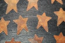 """Rusty Tin Star Cutouts 1.5"""" T x 1"""" W 12/Pkg - Crafting - Primitive Whimsical"""