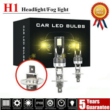 H1 LED Headlight kits 110W 20000LM FOG Light Bulbs 3000K Driving DRL Lamp Yellow