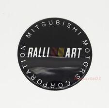 1Pcs 65mm Car Wheel Center Cap Emblem Sticker Badge Logo for Mitsubishi Ralliart