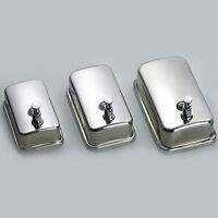 NEU 500/800/1000ml Badezimmer Seifenspender Flüssigseifenspender Wandmontage
