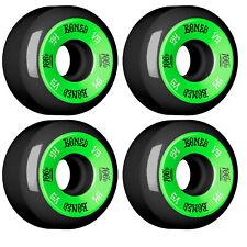 Bones Skateboard Wheels 100's #10 V4 Black 54mm