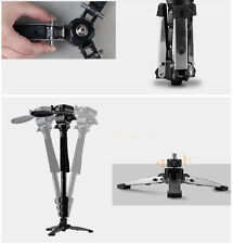 WF3958M Camera DSLR Monopod Tripod Video DV Fluid Head Holder Travel Camcorder