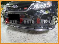 C-Speed II Style Carbon Fiber Front Bumper Lip For Subaru 2011-2014 WRX STI GVF