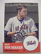 MATT DEN DEKKER Mets 2012 Topps Heritage Minors baseball card #36 FLORIDA GATORS