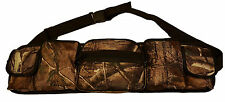ACCESSORY BELT - UTILITY BELT - 5 POUCH - SHOOTING - FISHING - STALKING - CAMO