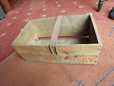 More details for vintage wooden isle o sun guernsey tomato box with carry handle