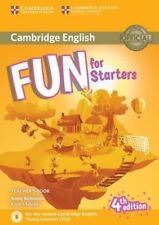 Cambridge Inglese Divertente per cominciare 4th Edition per 2018 esame TEACHER'S BOOK @NEW
