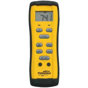 Fieldpiece ST4 Dual Input Temperature Meter with Type K Thermocouples
