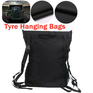 Jeep SUV Car Tyre Hanging Bags Protector Tire Storage Carry  Package Cover Bag