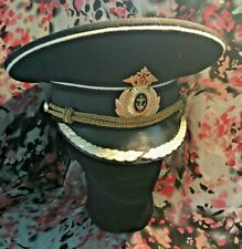 Russian Navy: Line Officer Captain 1st Rank Winter Parade Cap - Modern