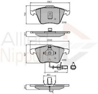 Allied Nippon Front Brake Pad Set ADB11200  - BRAND NEW - 5 YEAR WARRANTY