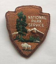 Vantage National Park Service Patch Arrowhead - Very Good Condition