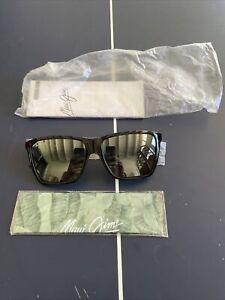 Maui Jim CRUZEM Polarized Sunglasses MJ864-02 Black- Brand New
