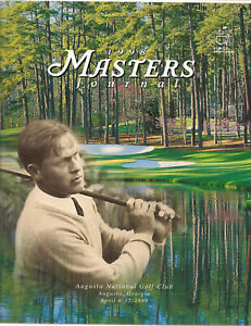 1998  Masters golf program, review of Tiger Woods 1st major win