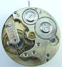 Agassiz Pocket Watch Movement - High - Grade Private Label - Parts / Repair!