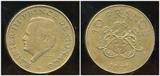 MONACO 10 francs 1979
