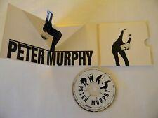 Peter Murphy Us Cd Pop Up Sleeve Deep Vg+ 10 Trk Beggars Banquet 9877-2-H Ltd Ed