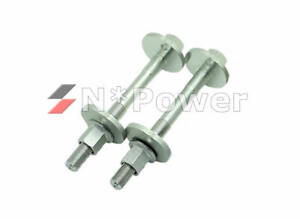 TOYOTA OEM FRONT Camber Bolt Kit x2 for Hilux KUN26 GGN25 4WD 05-15, TUNLAND 4X4