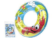 """24"""" plage piscine aide gonflable natation bague pneu tube jouets flottant anneau"""