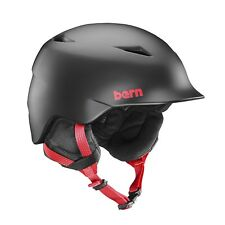 Bern Camino Snow Helmet - Kids - Matte Black - Small/Medium