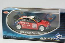 Solido 1/43 - Citroen Xsara WRC Rallye Monte Carlo 2003