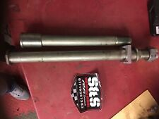 Kawasaki Zx6r Zx636r 2009-2019 Rear Wheel Spindal And Front Spindal