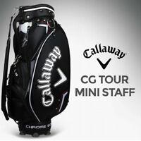 Callaway CG Tour Mini Staff Caddy Bag Black Color 4.3Kg Golf Caddie Bag_NK