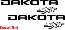 Dodge Dakota SXT Off Road  Vinyl Decal Stickers 01