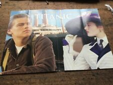 TITANIC MOVIE RELEASE PROMOTIONAL FLYER RARE POINT OF SALE ADVERTISEMENT