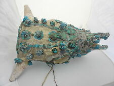 South Western Cow Skull with  Turquoise