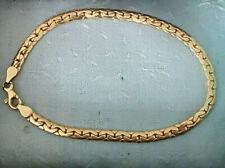 Armband 750er Gelbgold, 18 Karat, Flachpanzer