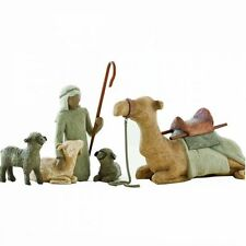 Willow Tree Nativity Shepherd and Stable Animals 26105