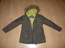 84. Jack Wolfskin Fairbanks Girls Mantel Parker Jacke Texapore Gr 140 kaki