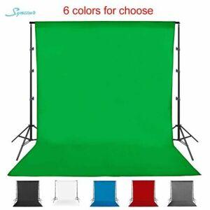 Photography Backdrop Green Screen Studio Chromakey Cloth Cotton Muslin Washable