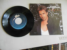 DON JOHNSON heartbeat/can't take your memory  PICTURE SLEEVE 45