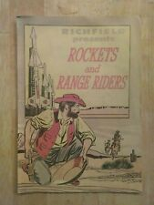 Rockets and Range Riders Comic Book