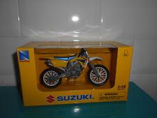 11.02.18.5 Moto Miniature Suzuki Rm-z450 1/18 Jaune NewRay