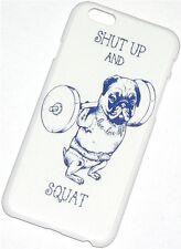 "Funda rígida Shut Up and squat para iPhone 6 4,7"" protectora Nuevo"