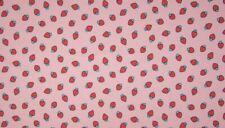 Jersey ERDBEERE DUFT, rosa - rot, 16,90 €/m - DUFTET -
