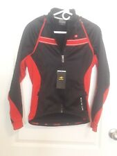 SANTIC Cycling Winter Fleece Jersey Red/Black NEW w/tags small