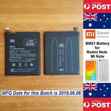GENUINE Xiaomi Redmi Note, Mi Note  Battery BM21 3000mAh Quality - Local Seller