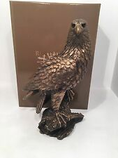 Eagle Left Bronzed Bronze Reflections by Leonardo Figurine *BRAND NEW BOXED*