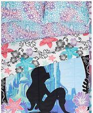 Disney The Little Mermaid Ariel Ombre Microfiber Full Bedding Sheet Set NIB!