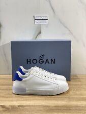 Hogan H526 Sneakers Uomo In Pelle Bianca Luxury Sneakers Hogan 41