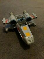 Hasbro Star Wars Galactic Heroes X Wing Fighter Ship 2004 Working