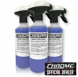 Chrome (NW) - Window and Glass cleaner. 3 for £16.99 FREE P&P- The CB Shack Lymm